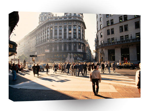 South America Buenos Aires Argentina City A1 Xlarge Canvas