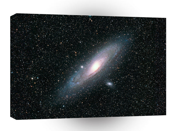 Space Andromeda Galaxy A1 Xlarge Canvas