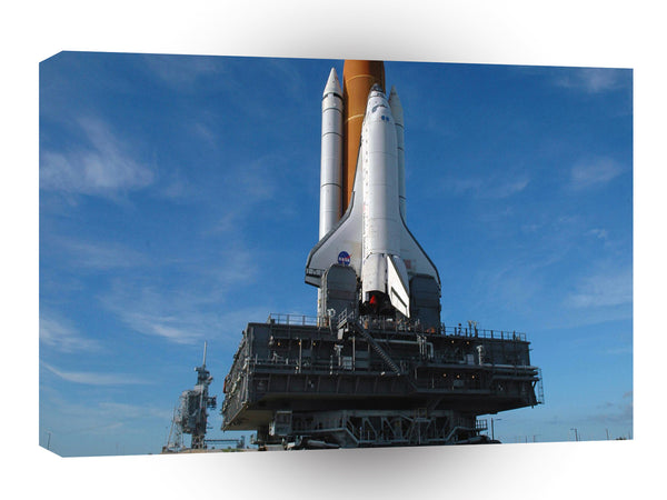 Space Discovery Launch Pad A1 Xlarge Canvas