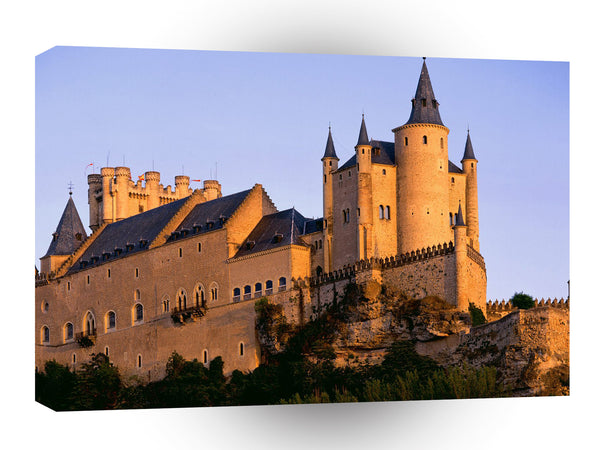 Spain Alcazar Castle Segovia A1 Xlarge Canvas