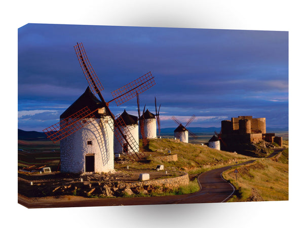Spain Consuegra A1 Xlarge Canvas