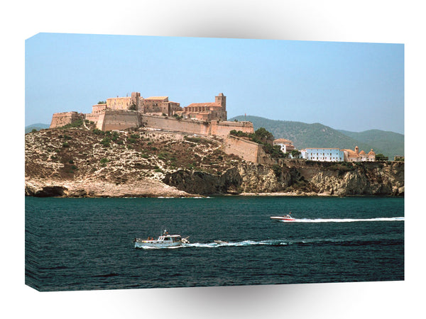 Spain Dalt Vila Ibiza A1 Xlarge Canvas