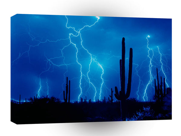 Storm Blue Furious A1 Xlarge Canvas