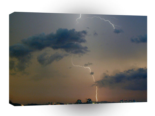 Storm City Blitze A1 Xlarge Canvas