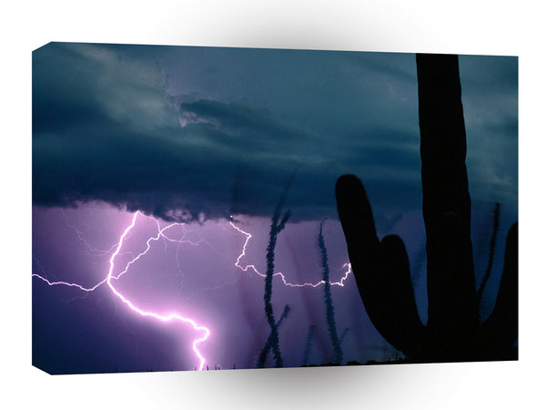 Storm Desert Snap Bolts A1 Xlarge Canvas