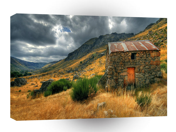 Storm Shelter Valley A1 Xlarge Canvas