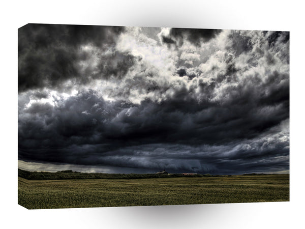 Storm Wide Plain Sky A1 Xlarge Canvas
