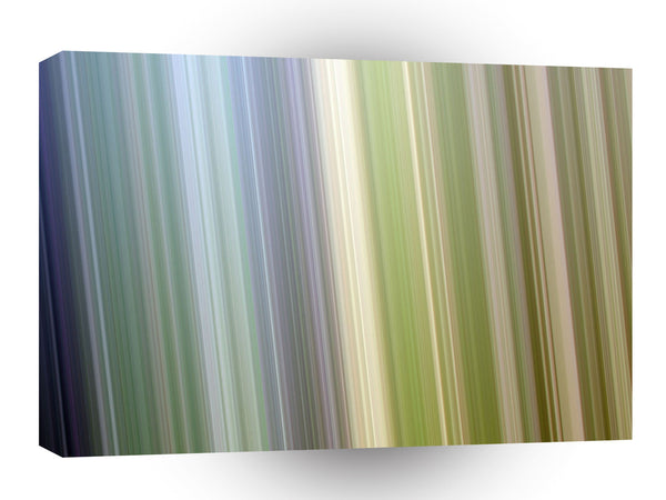 Strips Gradient Effects Blue Green Shade A1 Xlarge Canvas