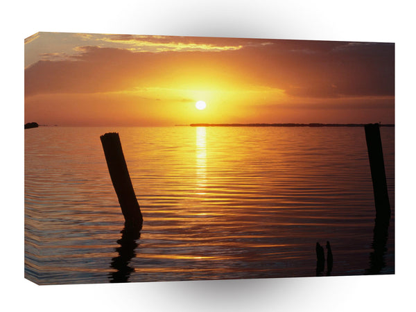 Sunrise A New Day Begins Everglades Florida A1 Xlarge Canvas