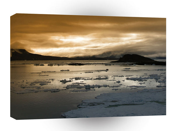 Sunrise Arctic A1 Xlarge Canvas