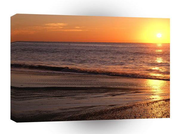 Sunrise Atlantic Myrtle Beach Carolina A1 Xlarge Canvas