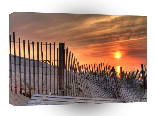 Sunrise Beach Drift A1 Xlarge Canvas