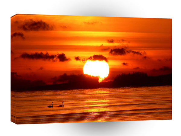 Sunrise Big A1 Xlarge Canvas