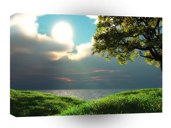 Sunrise Big Summer Breeze A1 Xlarge Canvas