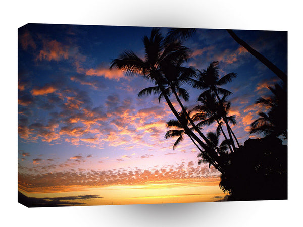 Sunset Afterglow Hawaii A1 Xlarge Canvas