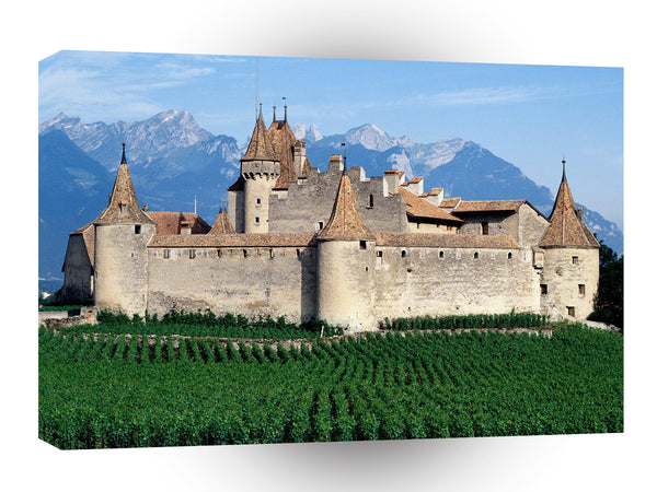 Switzerland Chateau Daigle A1 Xlarge Canvas