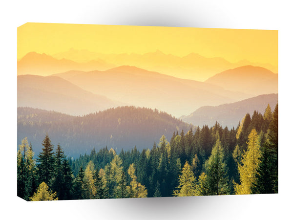 Switzerland Golden A1 Xlarge Canvas