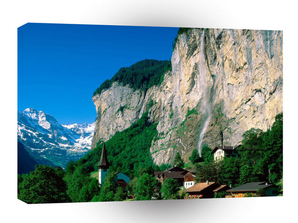 Switzerland Lauterbrunnen A1 Xlarge Canvas