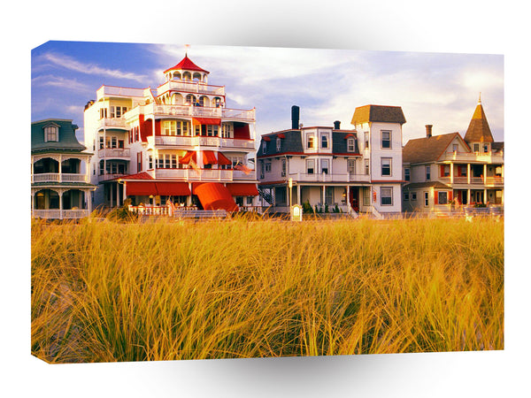 United States Beachside Real Estate Cape May New Jersey A1 Xlarge Canvas