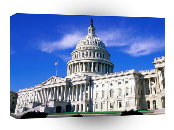 United States Capitol Building Washington A1 Xlarge Canvas