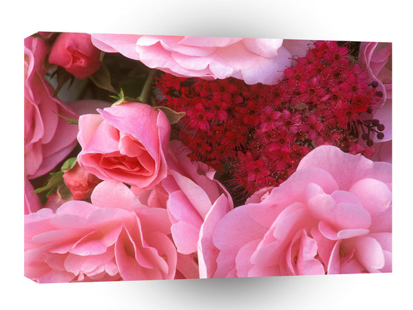 Valentines Day Bouquet From The Heart A1 Xlarge Canvas
