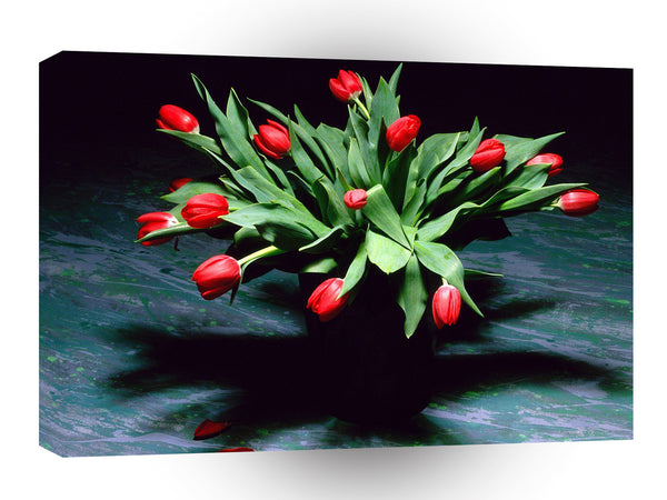Valentines Day Bouquet Of Tulips A1 Xlarge Canvas