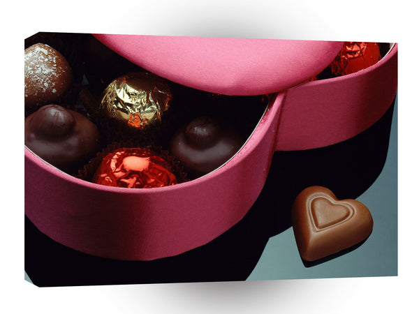 Valentines Day Chocolate Affection A1 Xlarge Canvas