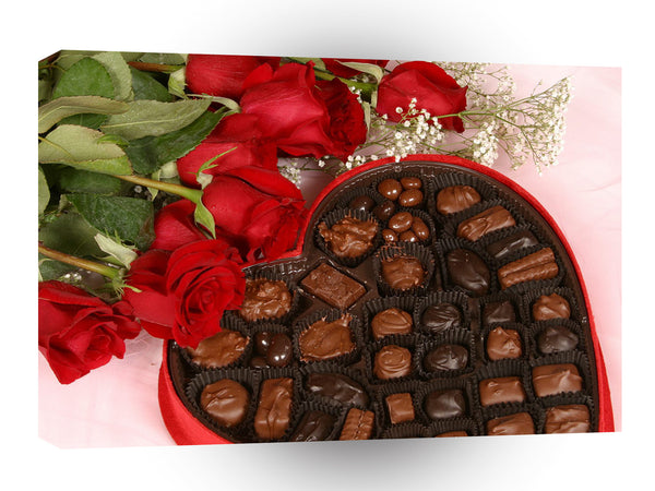 Valentines Day Chocolate Desire A1 Xlarge Canvas