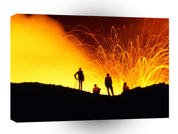 Volcano The Big Show Hawaii A1 Xlarge Canvas