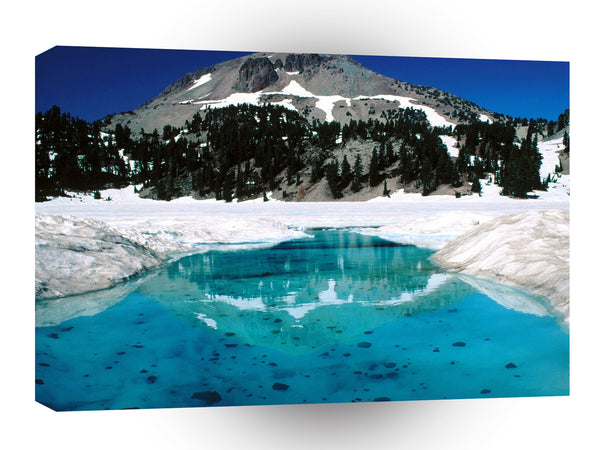 Volcano The Thaw Lassen California A1 Xlarge Canvas