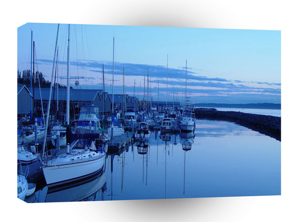 Water A Peace Ful Harbor A1 Xlarge Canvas