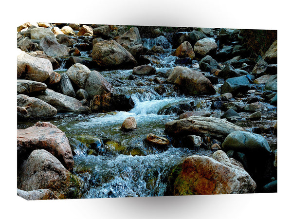 Water A Rocky Day Out A1 Xlarge Canvas