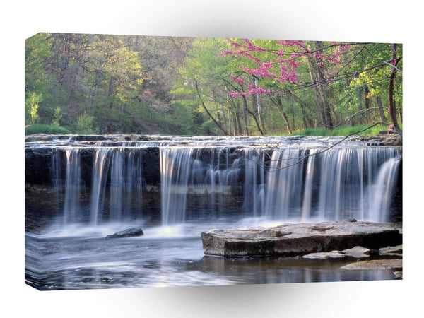 Waterfall Andersoncolumbus Indiana A1 Xlarge Canvas