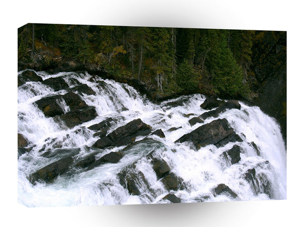 Waterfall Before The Falls A1 Xlarge Canvas