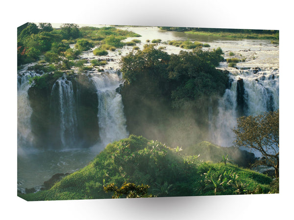 Waterfall Blue Nile Ethiopia A1 Xlarge Canvas