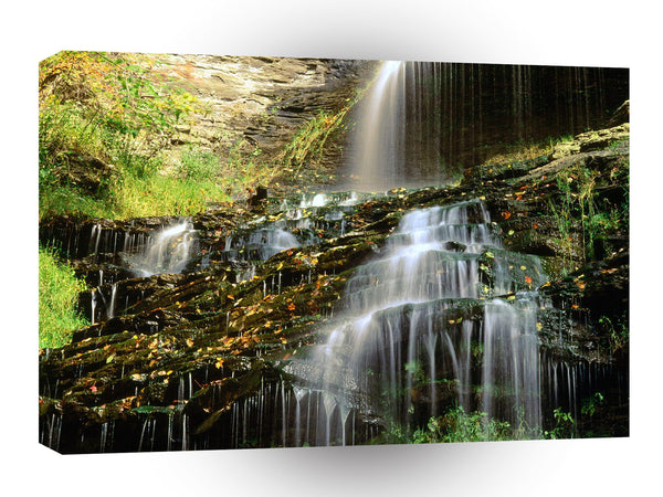 Waterfall Cathedral West Virginia A1 Xlarge Canvas