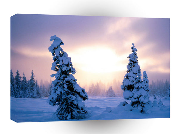 Winter A New Season Awaits A1 Xlarge Canvas