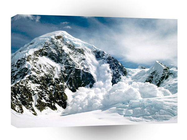 Winter Avalanche Denali A1 Xlarge Canvas
