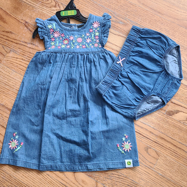 John Deere Country Floral Dress