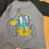 John Deere Construction Come and Go Tee