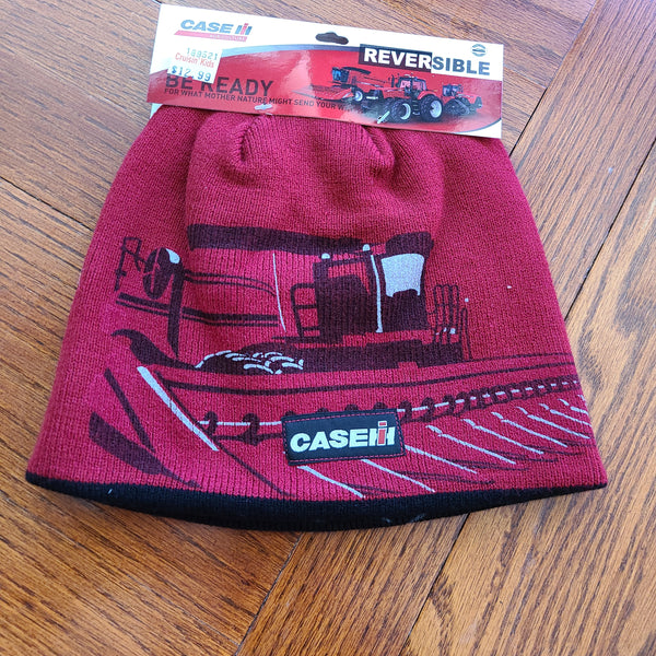 Case IH Reversible Tractor Print Knit Hat