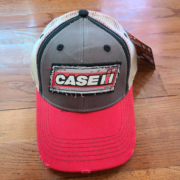 Case IH Two tone distressed Youth Cap