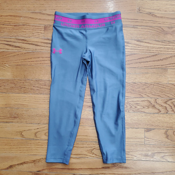 UA Youth Girls HeatGear Armour Crop Capri