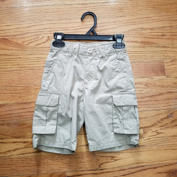 Wes & Willy Khaki Cargo Short