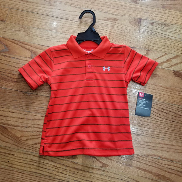 Under Armour® Boys Striped Polos