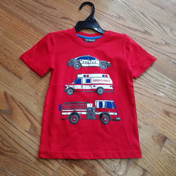 CR Sports - Rescue Vehicles Tee