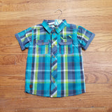 Noruk Boys S/S Plaid Shirt