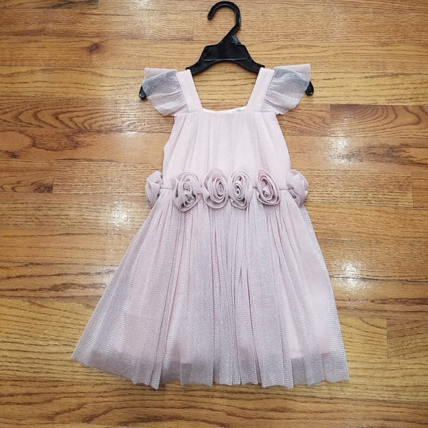 ML Kids Sparkle Blush Dress