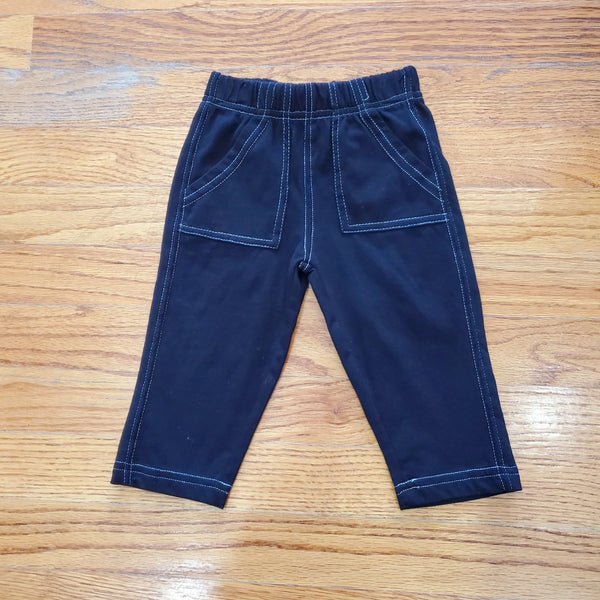 Wes & Willy Baby Boy Black Pant