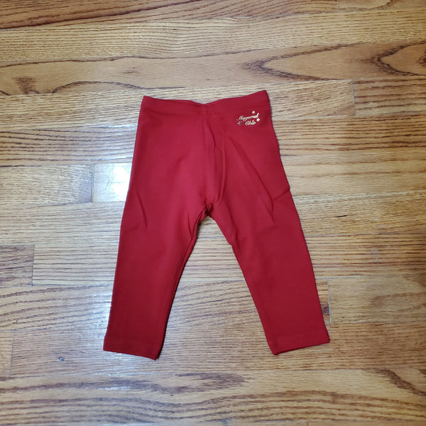 Mayoral Red Leggings